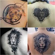 тату лев значение идеи и фото татуировки со львом Tattoo Ideasru