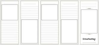 Blank Templates Free Free Blank Brochure Templates Clipart Images Gallery For