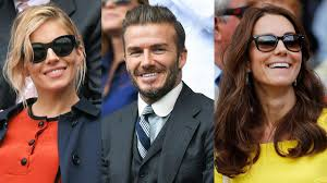 celebrities at wimbledon 2016 david beckham bradley cooper and other stars hold court on centre court