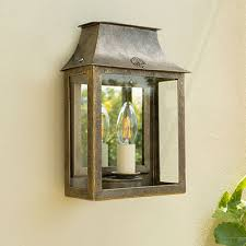 outdoor lantern lighting. Peacock Lantern With Vintage Mirror Glass Outdoor Lighting