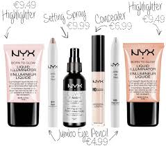 nyx makeup highlighter concealer setting spray jumbo eye pencil
