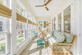 sunroom interiors. Large Porch With Windows Turned Into An Elegant Sunroom [Design: Echelon Interiors] Interiors
