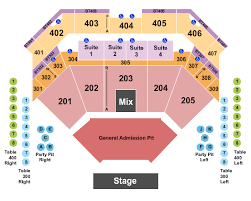 Paradise Cove Seating Chart Qualified Acm Dallas Seating Chart River Spirit Casino