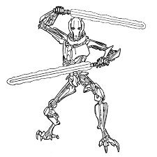 Simple General Grievous Drawing Jerusalem House