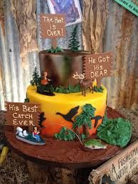 Hunting Cake Our Cakes Groomsman Cake Hunting Birthday Cakes