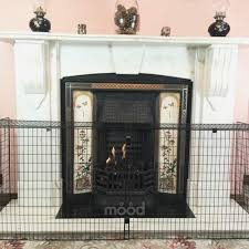 baby proof fireplace screen luxury crannog high quality nursery guard extendable fire screen baby