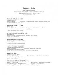 Production Resume Template 58 Images Manager Film Assistant Cover