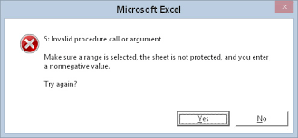 How To Use The Onerror Statement In Excel 2016 Vba Dummies
