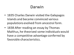 population genetics and natural selection ppt video online  population genetics and natural selection 2 darwin
