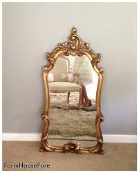 hollywood regency mirrored furniture. large ornate mirror hollywood regency baroque mirror wall hanging bathroom mirrors gold gilt leaning mirrored furniture d