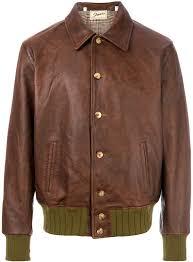 levi s vintage clothing elasticated waist leather jacket