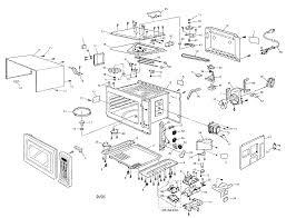Panasonic model nn c980b countertop microwave genuine parts rh searspartsdirect