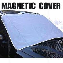 MAGNETIC <b>Auto Snow Cover</b> Car Windshield Windscreen Shade ...