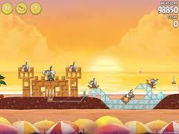 Angry Birds Rio Golden Beachball Walkthrough Level #18