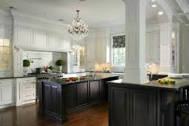black white kitchen cabinets