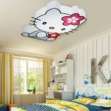 kids bedroom lighting ideas. Living Room. Hello Kity Cans Lighting For Kid Bedroom Ceiling Decoration Ideas Design. Kids L