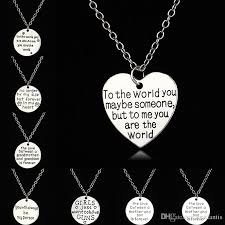whole forever in my heart necklaces family necklace member always sister the love between a grandmother and grand son is forever pendant 161948 beaded