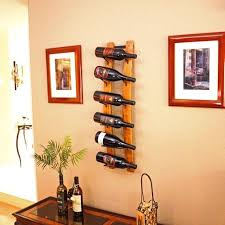 barrel stave wine rack wall mounted 6