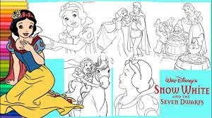 See actions taken by the people who manage and post content. Coloring Disney Snow White The Seven Dwarfs Princess Snow White Coloring Pages Youtube