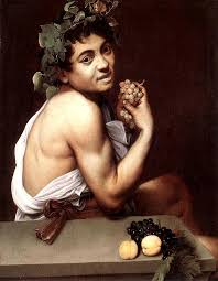 if all the men look like cow eyed curly haired women it s caravaggio