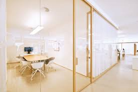 creative office partitions. Wood Divider Partitions By Zi Creative Have Transformed The Unicredit Bank Branches. Office