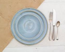 dining plate set malaysia. handmade dinnerware set - including: dinner plate, side plate and bowl calm seas dining malaysia w