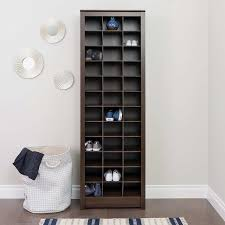 prepac 36 pair shoe storage rack