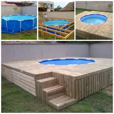Decking Using Pallets Pallet Swimming Pool Deck Andreas Notebook