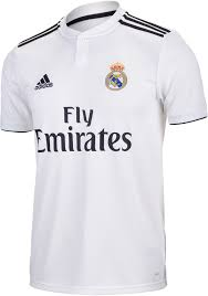 Adidas Sergio Ramos Real Madrid Home Jersey Youth 2018 19
