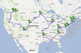 how fast could you visit all 50 states