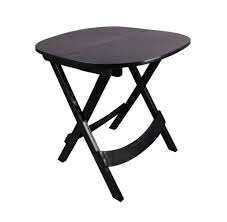 xtreme plastic folding table round color black or brown for home use 720