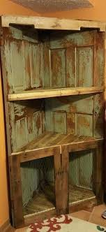 best door shelves ideas on storage corner shelf rustic made from old