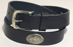 arkansas razorback black leather concho belt the stadium pe on razorback