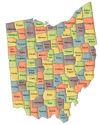 ohio college yearbooks by county Ohio Colleges Map county map of ohio ohio college map