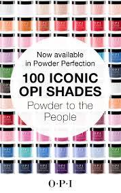 Opi Purple Color Chart Dipping Powders Dip Nail Colors Gel Powder Nails Nail