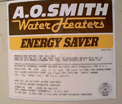 how to water heater model numbers water heater serial number ao smith water heater model number