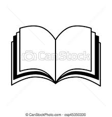 450x470 text book silhouette isolated icon vector ilration vectors