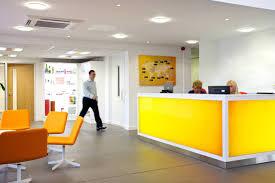 office reception desk. Yellow-Reception-Desk From Www.whitespace.org.uk Office Reception Desk C