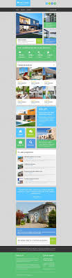 Real Estate Newsletter Template Real Estate Agency Responsive Newsletter Template 24 Real Estate 17