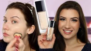 dior forever skin glow foundation review swatches and demo
