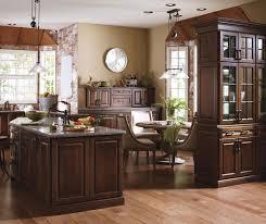 Dark Cherry Kitchen Cabinets Kemper Cabinetry
