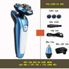 Máy Cạo Râu Lingke đa chức năng 3 trong 1 cạo râu - cắt tóc - tỉa lông mũi  - Dụng cụ cạo râu Hãng No Brand