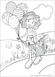 Free Coloring Pages For Girls Cute Girl Colouring Sheets A Really
