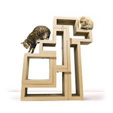 stylish cat furniture. Cats Are Notoriously Fickle Creatures, So The KATRIS System Was Made To Be Changed Up As You Need Improve Enrichment And Environment. Stylish Cat Furniture A
