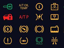 ford escape dashboard symbols all