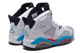 jordan shoes 2016 for girls blue. girls new air jordan 6 retro gs white blue red for sale 2015-4 shoes 2016