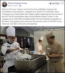Navy Cook Navy Cook Booted For Running With Motorcycle Gang This Ain