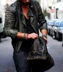 jacket jeans bag leather jacket bracelets leather black biker jacket washed out vintage jacket worn vintage bikers jacket ribbed cuir