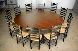 charming round extendable dining table seats 12 com of large intended for large round dining tables