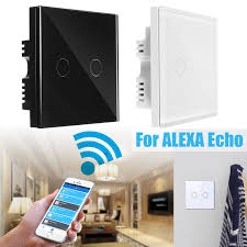 Walmart Wifi Light Switch 1 Gang 2 Gang 3 Gang Wifi Smart Light Remote Control Wall Touch Switch On Off Switch Panel Smart Home Item